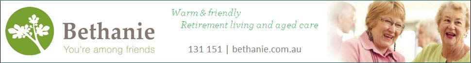 Bethanie - Residential Aged Care - Western Australia top