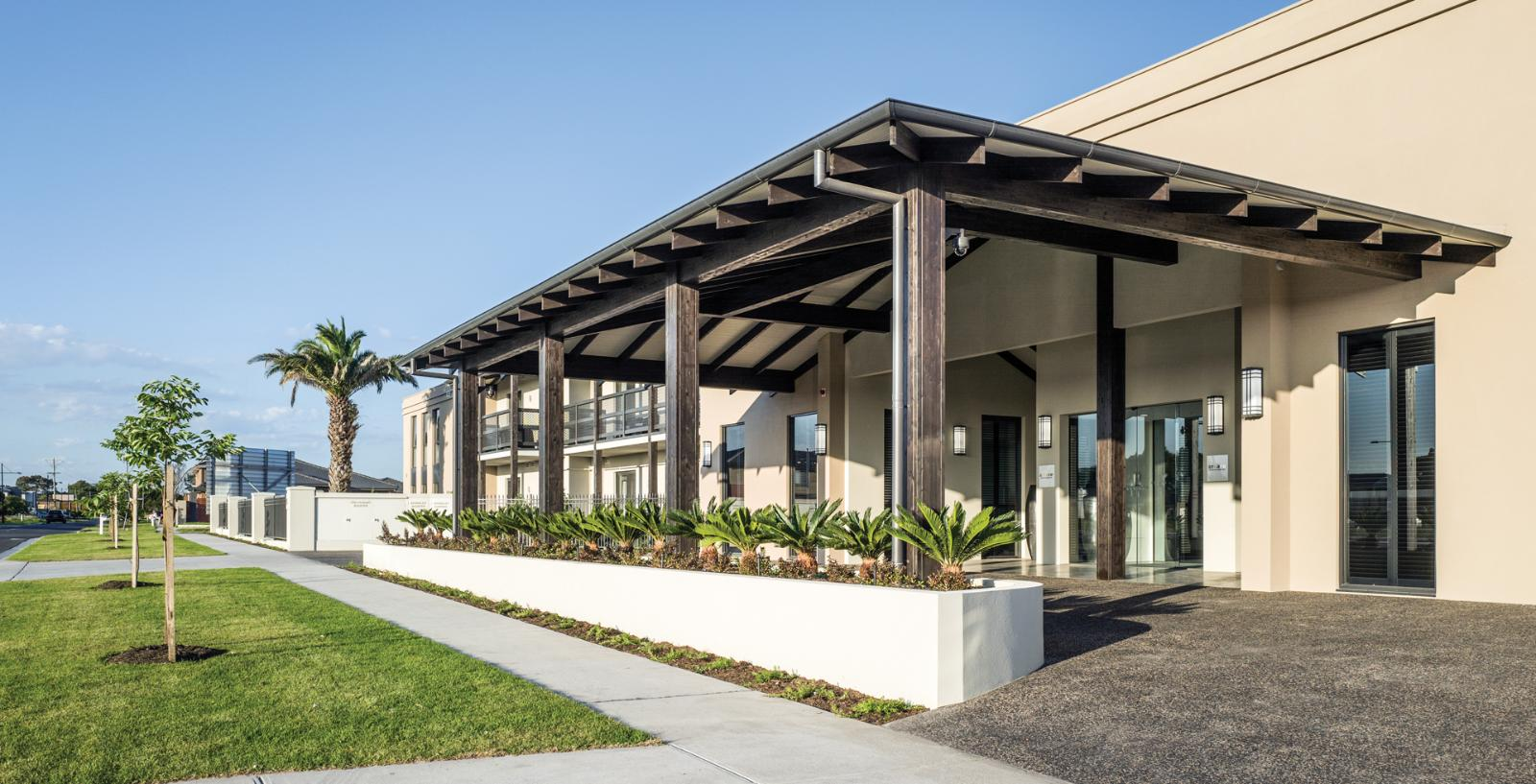 Arcare aged care keysborough exterior 01