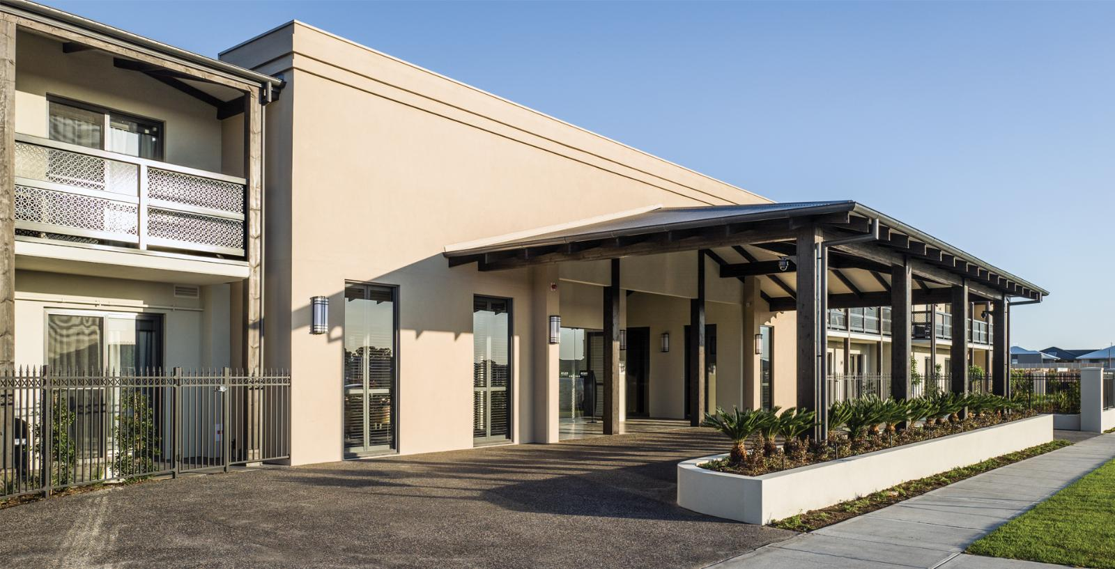 Arcare aged care keysborough exterior 02