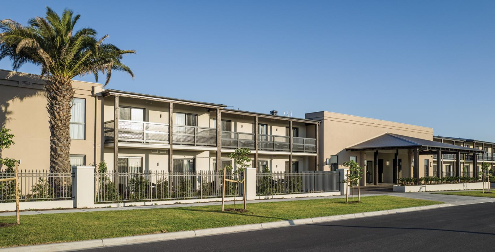 Arcare aged care keysborough exterior 03