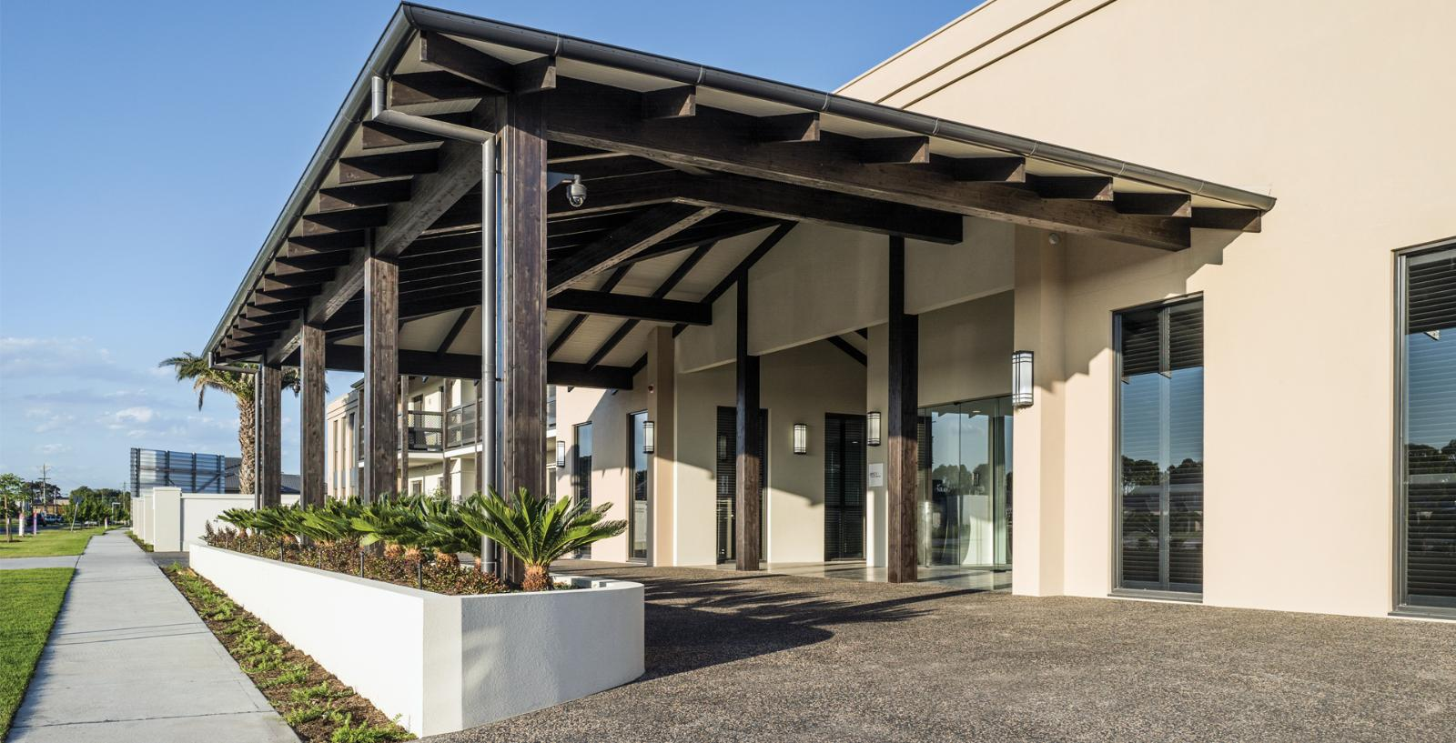 Arcare aged care keysborough exterior 04