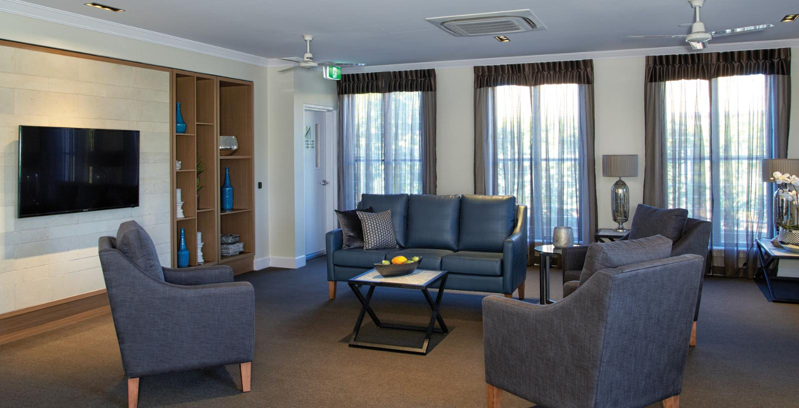 Arcare aged care maroochydore lounge 04