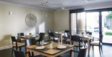 Arcare aged care maroochydore dining room 01