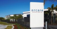 Arcare aged care maroochydore exterior sign